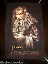 Lord of the Rings art print movie poster Hobbit Gandalf the Grey Wizard ring