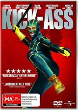 Kick-Ass (DVD, 2010) New & Sealed, Region: 2 & 4