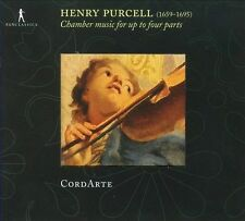 Henry Purcell Chamber music for up to four parts, New Music