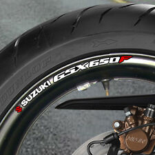 SUZUKI GSX R 650 F WHEEL RIM STICKERS  DECALS B