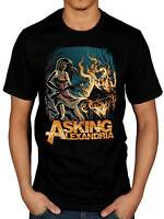 Official Asking Alexandria Am I Insane T-Shirt Afterlife Black Shadow Relentles