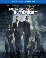 Person Of Interest The Complete Fourth Season (Blu-ray/Digital Copy, 4-Disc Set)