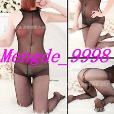 Sexy Men Netting Lingerie Suit Sexy Black Mesh Men Bodystocking Catsuit K3573