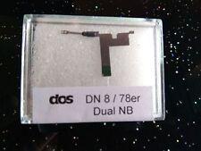 Dual Abtastnadel DN 8-78, Wendenadel, Schellack, 78 rpm