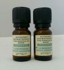 X2 Bath & Body Works Aromatherapy Pure Essential Oil  FRESHING