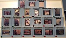 21 PIERRE CHAREAU Architecture 35mm Picture Slides of MAISON DE VERRE in PARIS