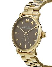 MARC JACOBS WOMEN'S STAINLESS STEEL YELLOW GOLD FASHION WATCH MBM3281