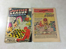 JUSTICE LEAGUE OF AMERICA #1 GREEN LANTERN, SUPERMAN, 1960, FLASH, KEY ISSUE!!
