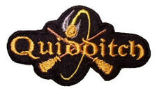 Harry Potter Quidditch Logo Patch Embroidered Badge Gryffindor Hogwarts Snitch