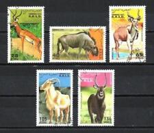 Animaux Faune sauvage Sahara Occidental (107) série complète 5 timbres oblitérés