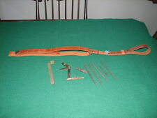 Strap, tool kit, and cleaning kit for an M1 Garand