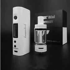 Subox mini starter kit 1:1 50W VV box mod vaporizer vape pen WHITE edition