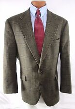 Ralph Lauren Blue Label 2 Button Green Wool Jacket Coat Blazer Mens 44 R