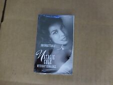 NATALIE COLE FEAT. NAT KING COLE UNFORGETTABLE FACTORY SEALED CASSETTE SINGLE B