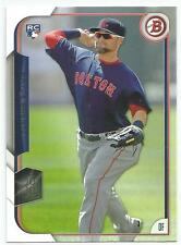 Bryce Brentz Boston Red Sox 2015 Bowman Rookie Card