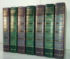 1997~READERS DIGEST~Modern PURPLE GREEN 7 Book Lot~Hardcover Decorative Set~NICE