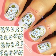 20 Nail Art Water Transfer Stickers(#BLE1444)-Decals-Adesivi Unghie- MANICURE!!!