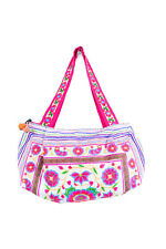 White Worm Hill Tribe Tote Bag Made By Hmong In Thailand Thailand Fair Trade