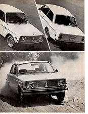 1968 VOLVO 142S  ~  NICE ORIGINAL 3-PAGE ROAD TEST / ARTICLE / AD