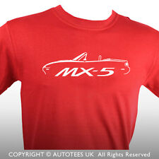 MAZDA MX5 EUNOS ROADSTER MK1 INSPIRED CAR T-SHIRT