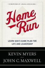 Home Run / Learn God's Game Plan for Life and Leadership by John Maxwell HCDJ