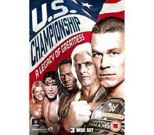 "Official WWE - US Championship ""A Legacy Of Greatness"" 3 Disc DVD Set"