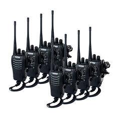 8pcs Portable BaoFeng BF-888S Walkie Talkie UHF400-470MHz 5W 16CH 2-Way Radio