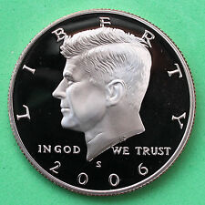 2006 S Proof Kennedy Half Dollar Coin 50 Cent JFK from US Mint Proof Set