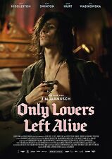 "Only Lovers Left Alive movie poster - Tom Hiddleston poster (German) 12"" x 17"""