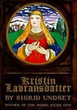 Kristin Lavransdatter: The Bridal Wreath; The Mistress of Husaby; The Cross, Und