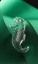 "Waterford® Crystal Seahorse 1.75"" Brooch Pin Limited Edition Jewelry, Great Gift"