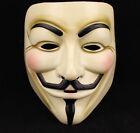 V For Vendetta Mask Guy Fawkes Anonymous Halloween Masks Fancy Dress Costume Hot