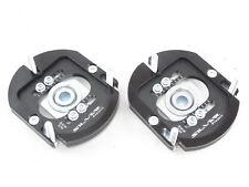 Camber Plates E36 3D 2WAY Drift BMW top mounts black