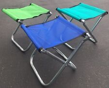 Aluminum Portable Folding Chair Stool Seat Outdoor Fishing Camping Padded