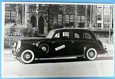 """12 By 18"""" Black & White Picture 1935 Lincoln 4 Door Limosine"""