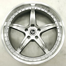 STERN DE ELEGANCE 20 x 8.5 H BLACK RIMS WHEELS DODGE CHARGER V6 BASE 5H +20