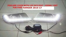 FORD RANGER 2016-17 FOG LAMP COVER WITH DAYTIME RUNNING LIGHT