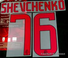 AC Milan Shevchenko 76 2008/09 Football Shirt Name number Set Kit Away