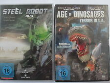 Action Sci.- Fi.- Sammlung - Steel Robot 1 - 4 & Age of Dinosaurs - Roboter Dino