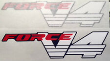 HONDA RC30 VFR750R FORCE V4 FAIRING DECALS x 2