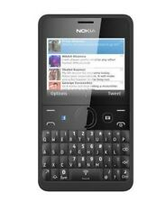 Full Body Housing for Nokia Asha 210 Dual Sim BLACK