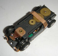 NOS Original Lighted Narrow Aurora HO Scale Thunderjet 500 Tjet Slot Car Chassis