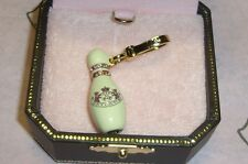 New Juicy Couture Bowling Pin Charm For Bracelet, Necklace,Handbag Keychain