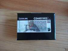 GENUINE LEXMARK EXTRA HI-YLD BLACK CARTRIDGE C544X1KG C544 C546 X544 X648 NEW