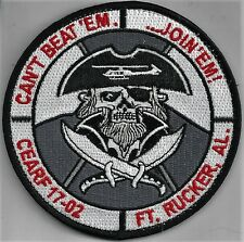 USAF 23rd FTS CAREER ENLISTED AVIATOR ROTARY WING PATCH  - FT RUCKER       COLOR