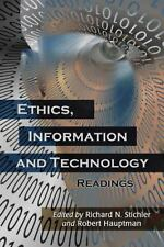 Ethics, Information and Technology: Readings