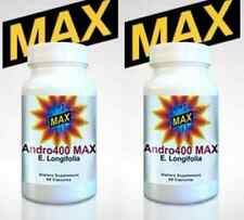 (2) Andro 400 Max - Free Same Day Shipping Andro400 Eurycoma Longifolia Ages 40+