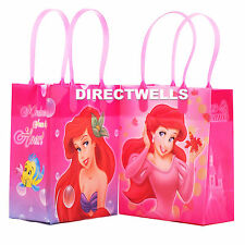 6 Pcs Disney Little Mermaid Authentic Licensed Small Party Favor Goodie Bags