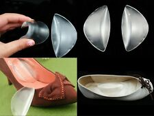 Soft 1Pair Shoe Foot Silicone Gel Cushion Insert Insole Arch Wedge Supports Pads
