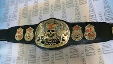 New Replica WWE Stone Cold Smoking Skull Champion Belt Adult Size With Bag